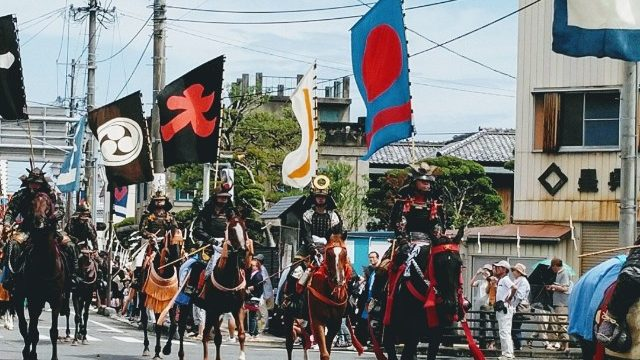 相馬野馬追パレード