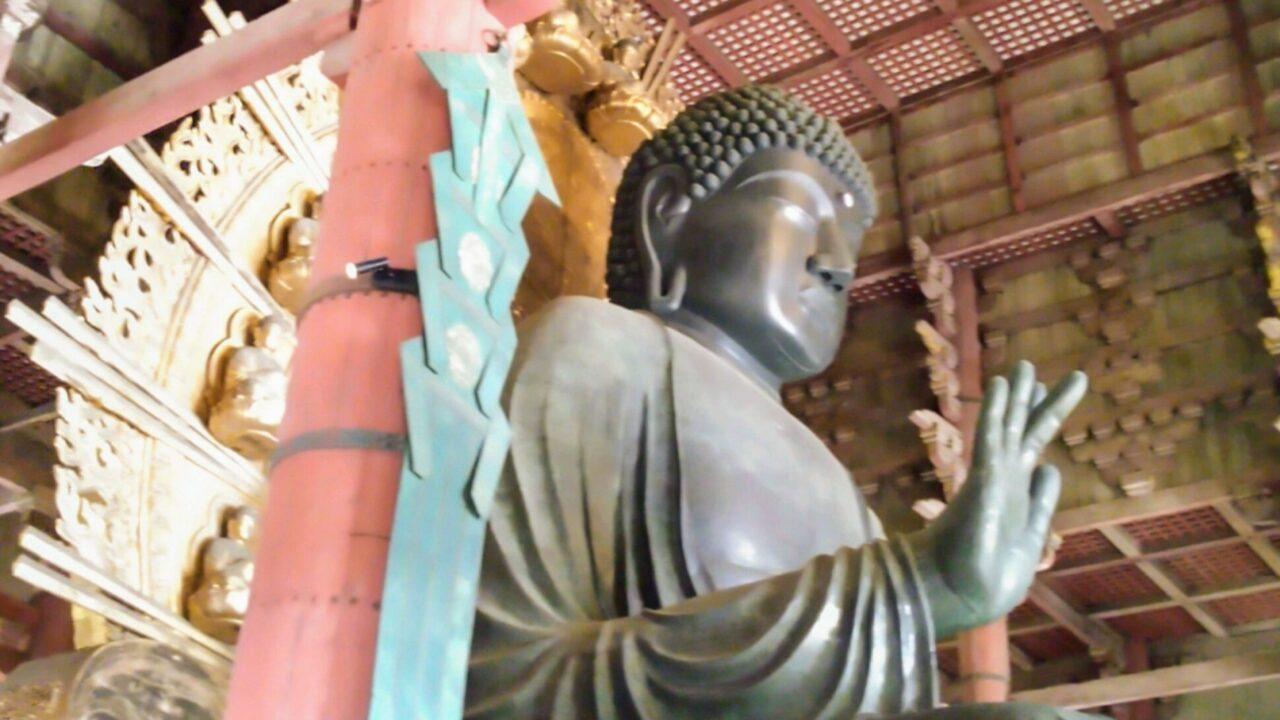 奈良、東大寺の大仏様
